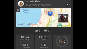 La Jolla ride